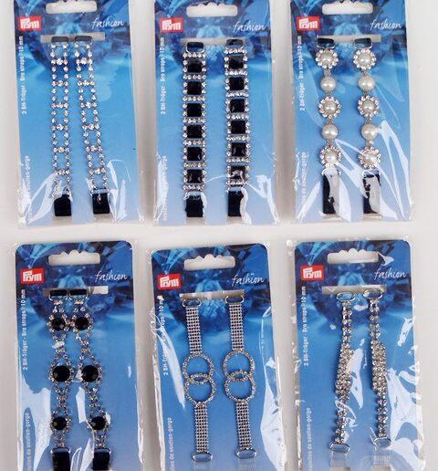 23d33777bc8 Τιράντα αλυσίδα με στρας για σουτιέν ή φορέματα (Bra straps) – Prym